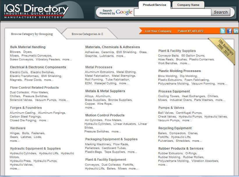 IQS Web Page