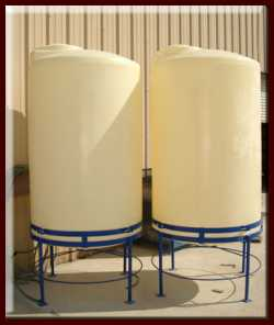 All Plastics and Fiberglass Polyethylene Tanks