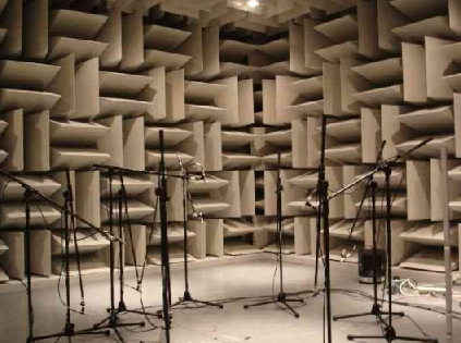Anechoic Chambers Testing Product Noise Levels