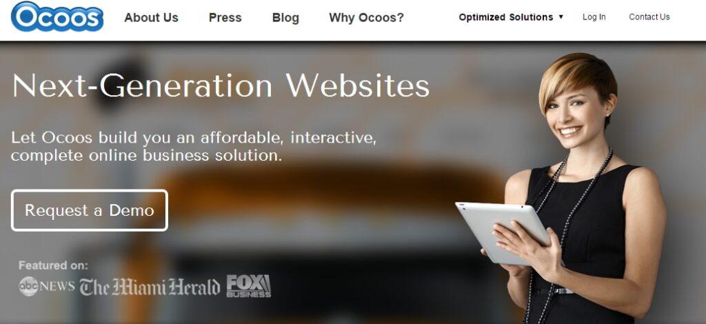 Ocoos Webpage