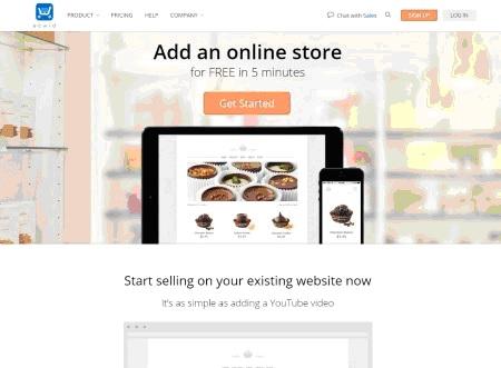 Ecwid Webpage