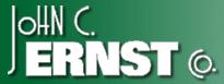 John C. Ernst Logo