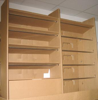 Roll Formed Metal Shelf