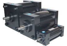3 Sizes of Air Cylinders