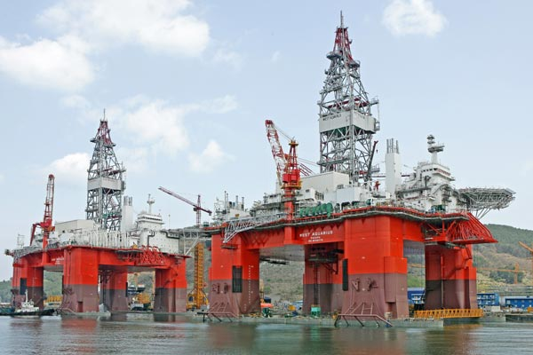 Semi-submergible Offshore Vessels