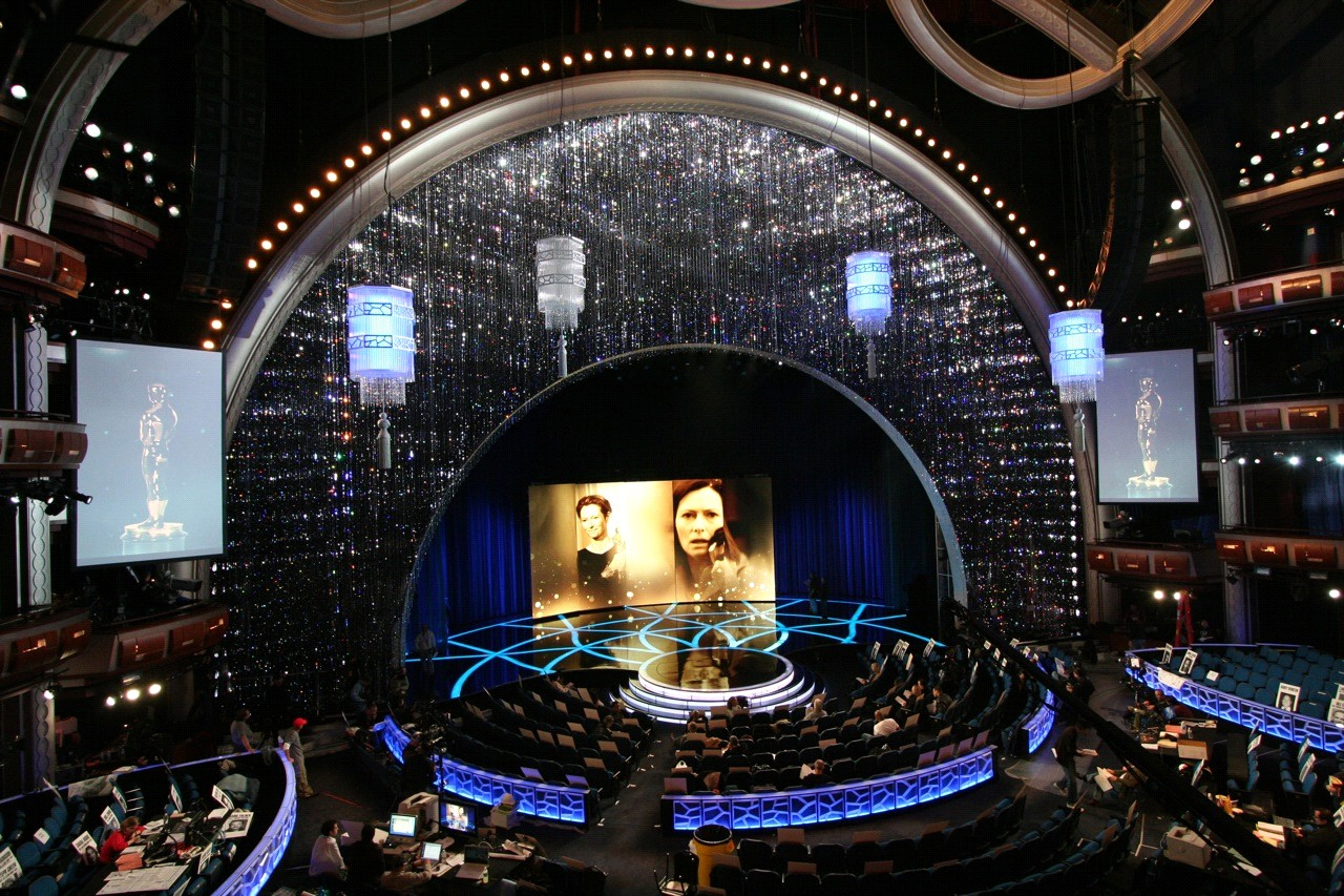 Oscars Stage with the Lexco Cable Products