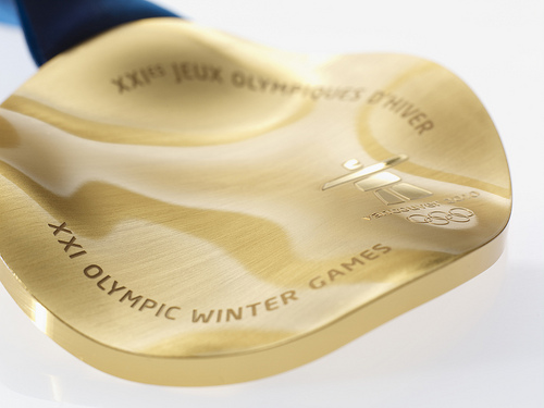 Gold Medal From 2010 Olympics